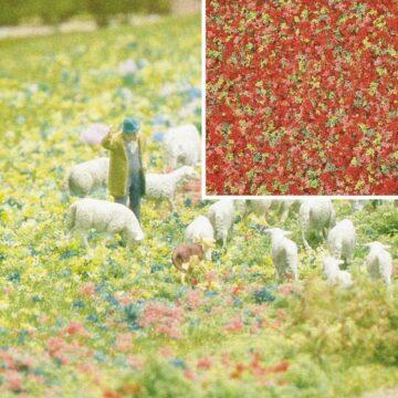 BUSCH 7357 <br/>Blütenflocken Sommerblumen 1