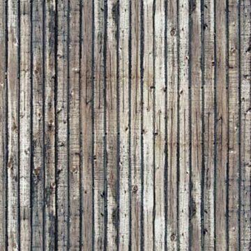 BUSCH 7420 <br/>Dekoplatten »Verwitterte Holzbretter«, 2 Stück 1