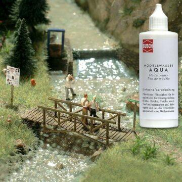 BUSCH 7589 <br/>Aqua Modellwasser 1