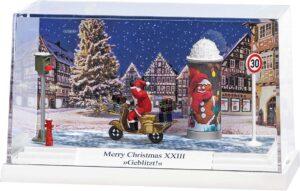 BUSCH 7638 <br/>Diorama: Merry Christm. XXIII