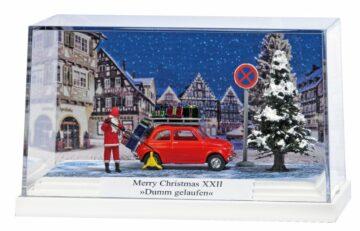 BUSCH 7653 <br/>Kleindiorama: Merry ChristmasXXII »Dumm gelaufen« 1