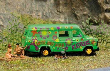 BUSCH 7702 <br/>Mini Welt: Wilde Camper 1