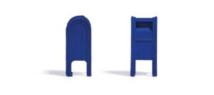 BUSCH 7765 <br/>Mini-Set US Mailboxen