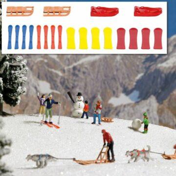 BUSCH 7769 <br/>Schlitten und Skier 1