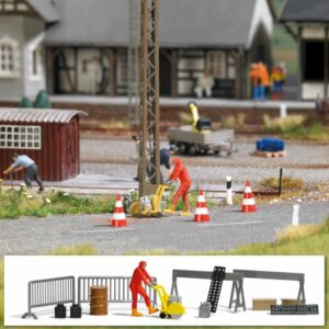 BUSCH 7801 <br/>Action Set: Asphaltsäge