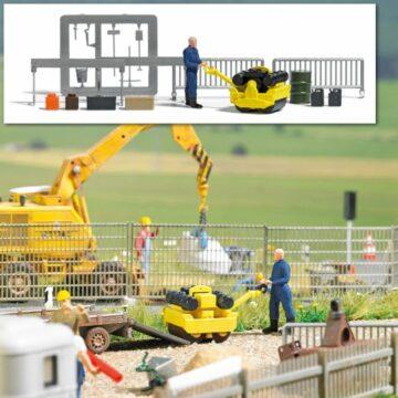 BUSCH 7805 <br/>Action Set: Straßenwalze 1