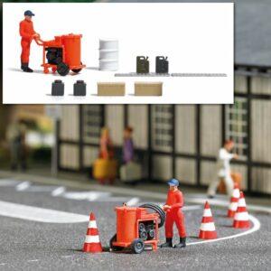 BUSCH 7806 <br/>Action Set: Straßenmarkierungsmaschine