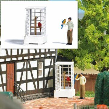 BUSCH 7813 <br/>Action Set: Vogelvoliere 1