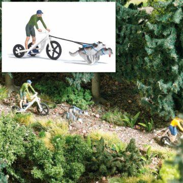 BUSCH 7815 <br/>Action Set: Zugwagen mit Huskies 1