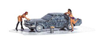 BUSCH 7824 <br/>A-Set: Car-Wash H0            1