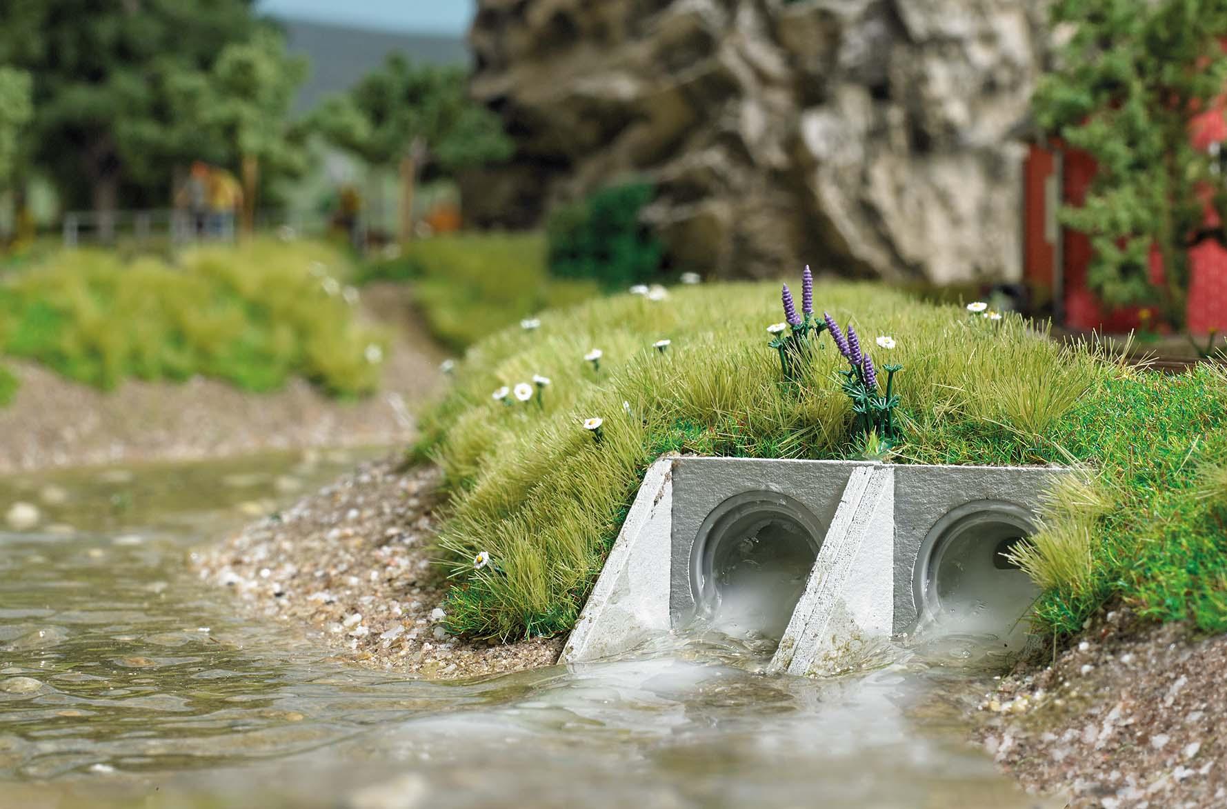 BUSCH 7891 <br/>Gewässerdurchlass H0