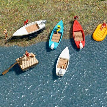 BUSCH 8057 <br/>Boote-Set 1