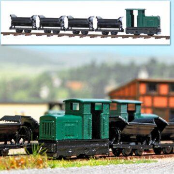 BUSCH 8070 <br/>Feldbahn-Set 1