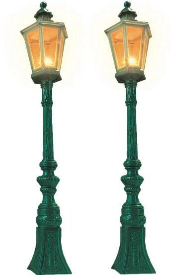 BUSCH 8621 <br/>Oldtimer-Straßenlampen, 2 Stück 1