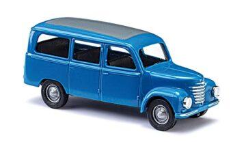 BUSCH 8680 <br/>Framo Bus blau TT             1