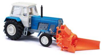BUSCH 8697 <br/>Traktor mit Schneefräse TT 1
