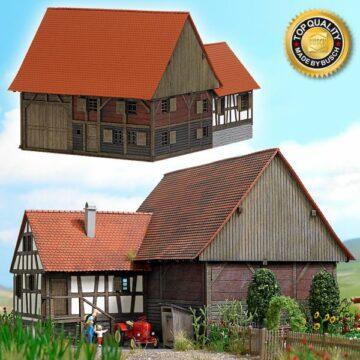 BUSCH 8788 <br/>Kleinbauernhaus aus Mennwangen 1