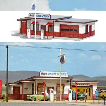 BUSCH 9723 <br/>US Tankstelle (Gas Station) 1