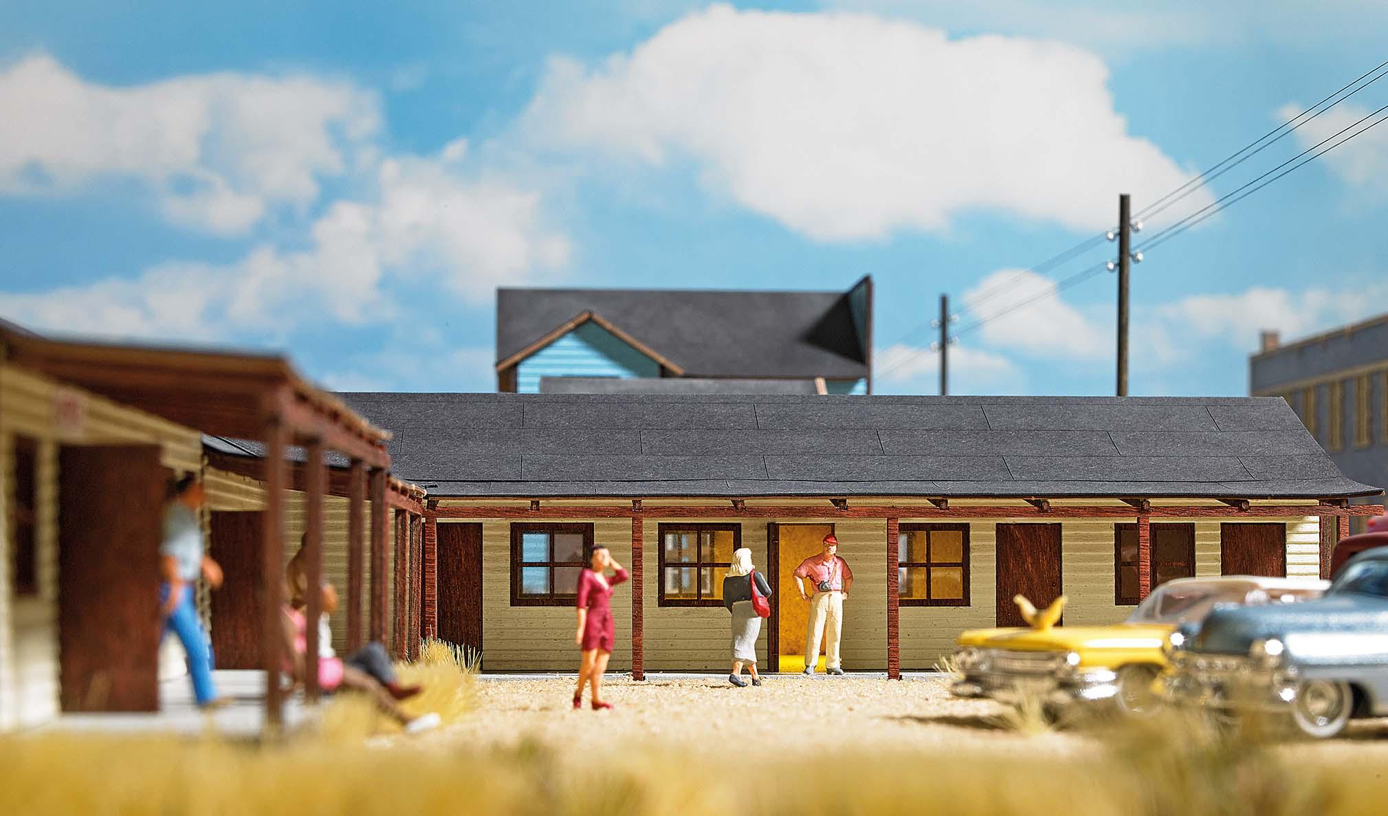 BUSCH 9728 <br/>US Motel H0 3