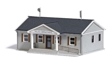 BUSCH 9731 <br/>US Polizeistation H0 1