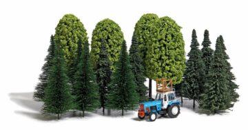 BUSCH 9777 <br/>Baum-Set und Traktor          1