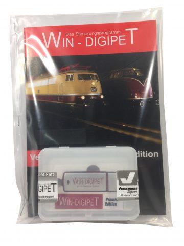 Viessmann 10101 <br/>WIN-DIGIPET Update Small Edition 2018 aufPremium Edition 2018 1