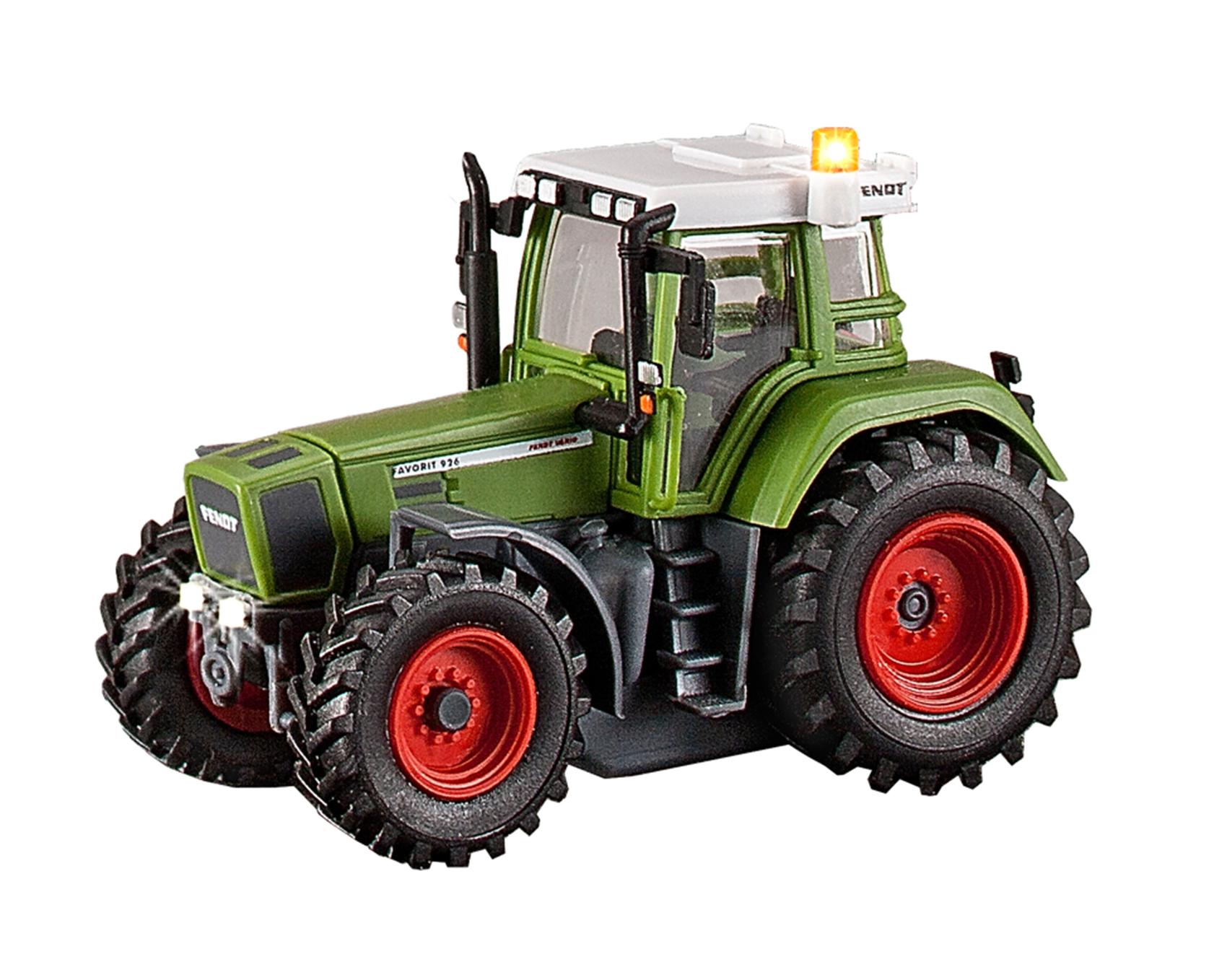 Viessmann 1166 <br/>Traktor Fendt mit Bel