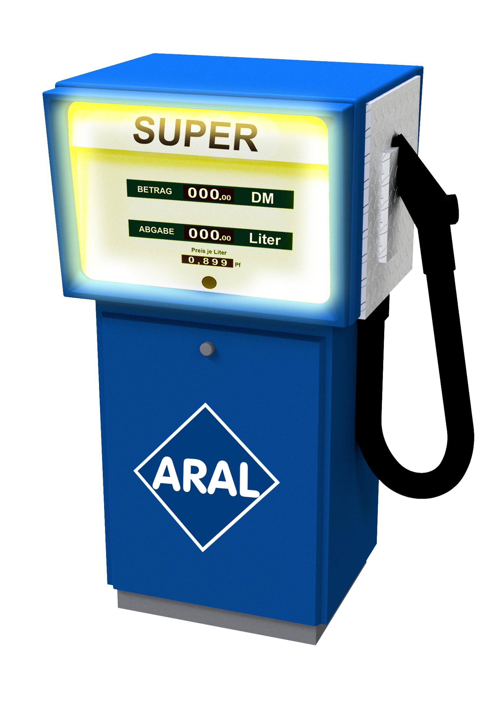 Viessmann 1364 <br/>Zapfsäule ARAL mit LED-Beleuchtung – ersetzt 5064 2