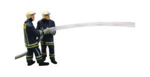 Viessmann 1542 <br/>Feuerwehrmänner beim Löschangriff
