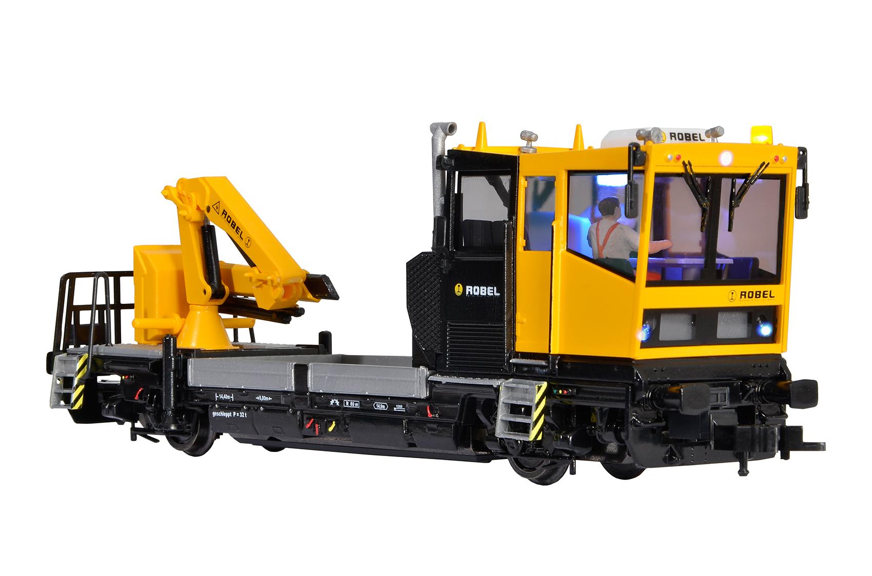 Viessmann 2610 <br/>ROBEL Gleiskraftwagen 54.22, Funktionsmodell für Zweileitersysteme
