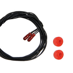 Viessmann 3508 Glühlampen, rot, 1,8 mm, 16V, 2K, 2 Stück