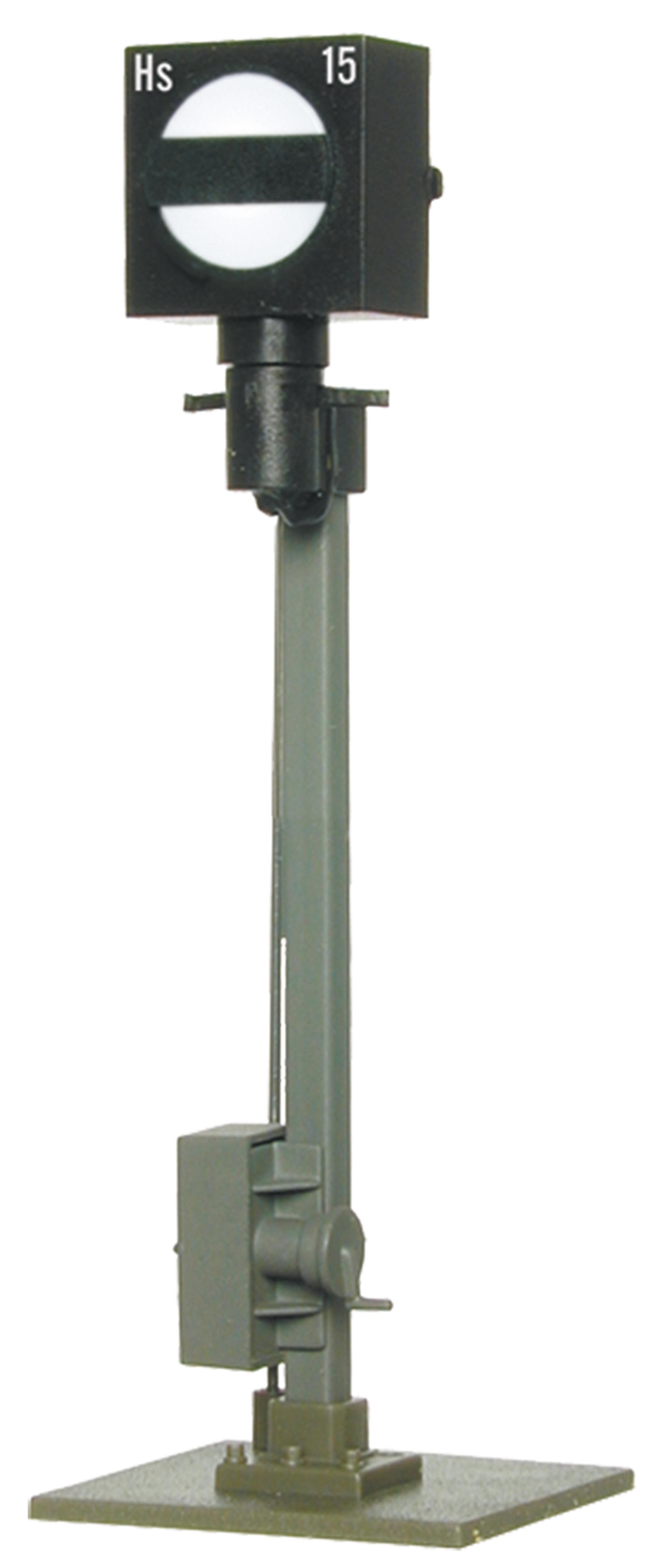 Viessmann 4515 <br/>Form-Sperrsignal, mit Erdfuß