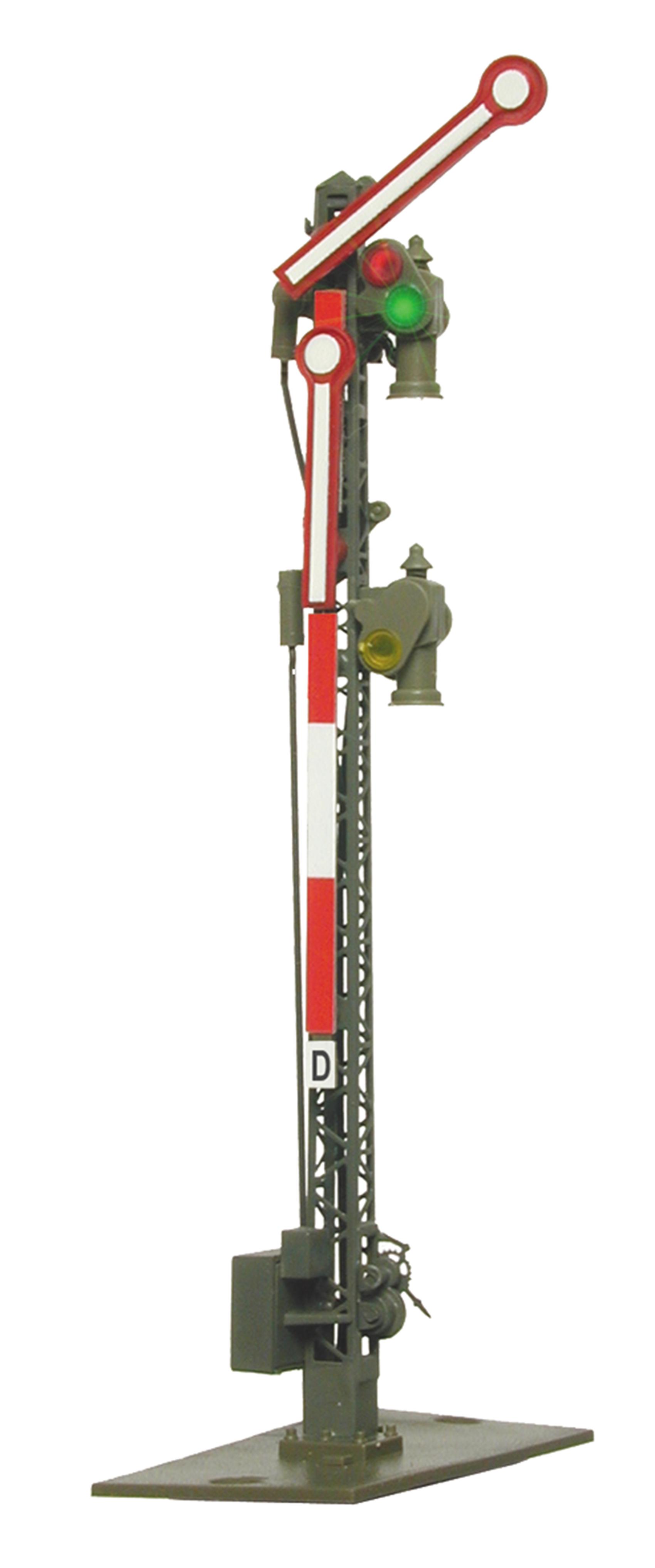 Viessmann 4902 <br/>Form-Hauptsignal, 2-flügelig, ungekoppelt