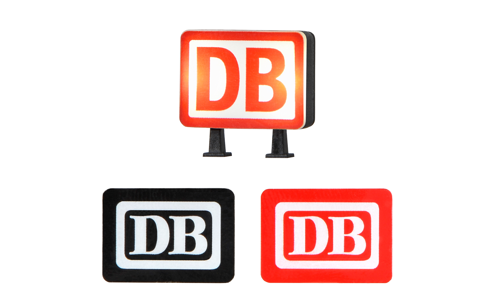 Viessmann 5075 <br/>DB Keks mit LED Beleuchtung, weiß
