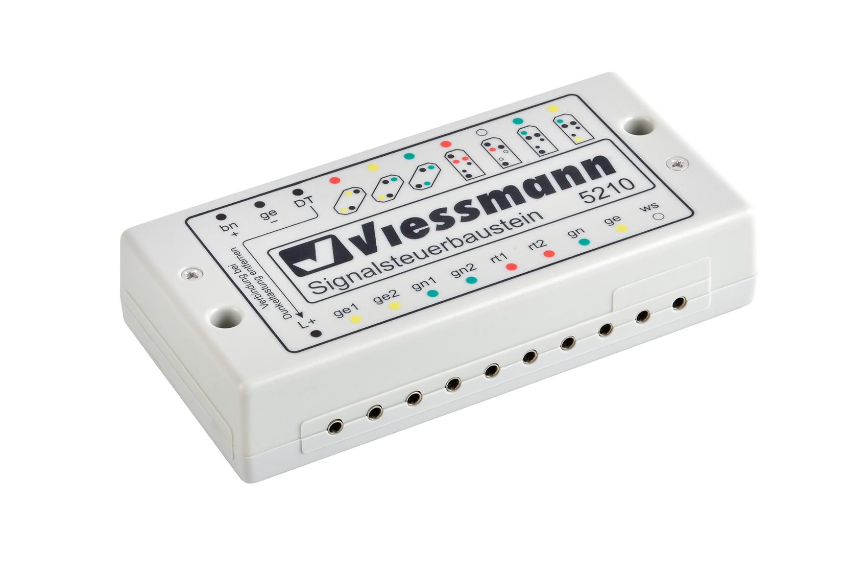 Viessmann 5210 <br/>Signalsteuerbaustein für Licht
