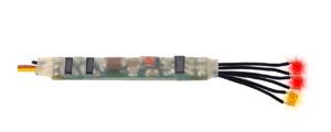 Viessmann 5273 <br/>Mini-LED Feuer rot-gelb, 3 Stückmit Mikro-Blinkelektronik