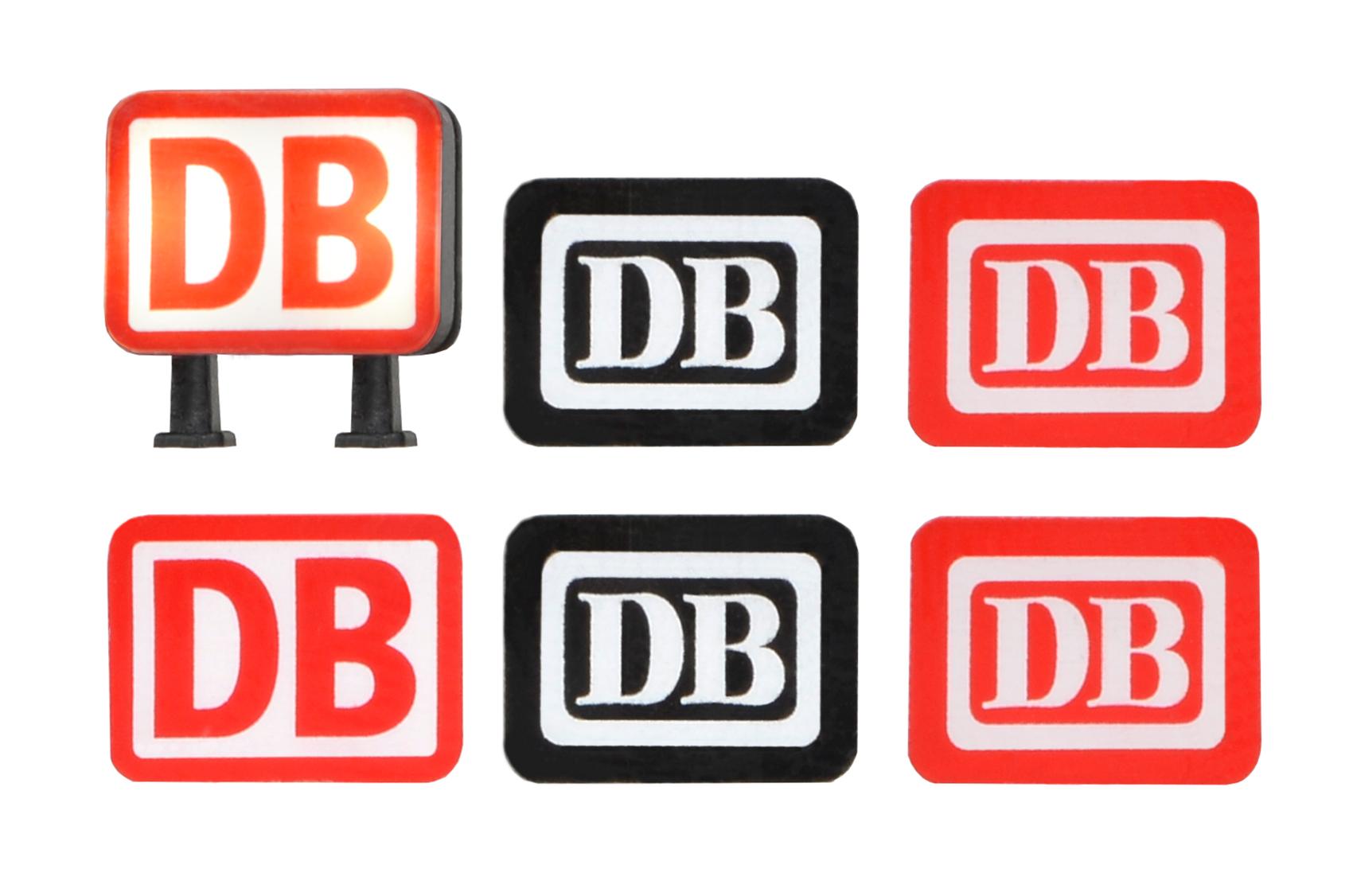 Viessmann 5875 <br/>DB Keks mit LED-Beleuchtung weiß