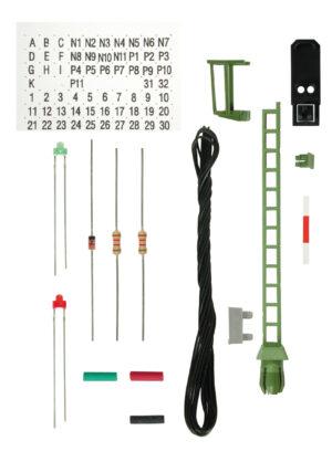 Viessmann 6731 <br/>Bausatz Licht-Blocksignal