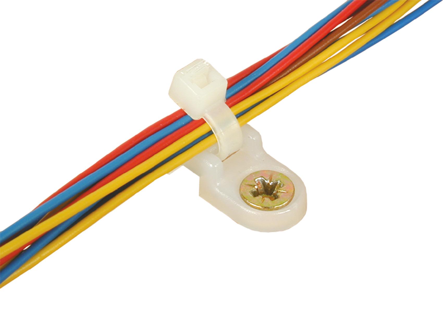 Viessmann 6845 <br/>Kabelbinder, 2,5 mm, 100 Stück