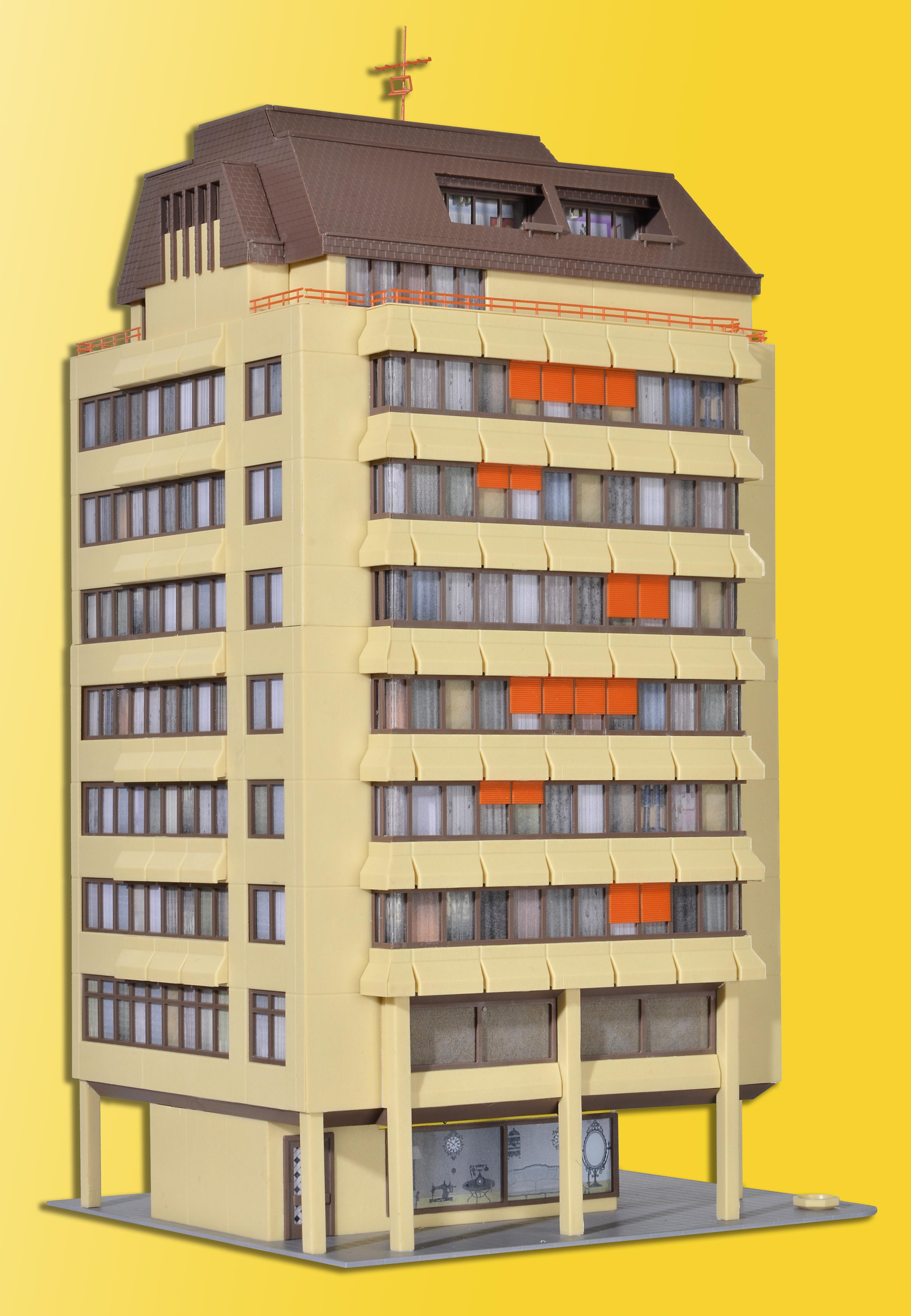 kibri 48218 <br/>Hochhaus inkl. EBL