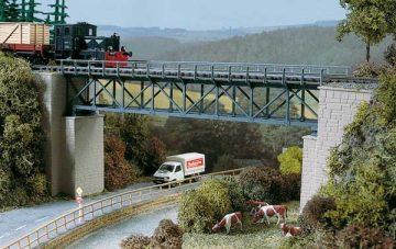 Auhagen 11364 <br/>Brücke, Fachwerkbrücke 1