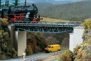 Auhagen 11365 <br/>Brücke, Fachwerkbrücke 1