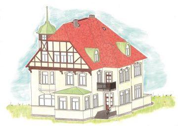 Auhagen 11443 <br/>Fabrikantenvilla 1