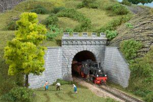 Auhagen 13276 <br/>Tunnel-Portale, 1-gleisig