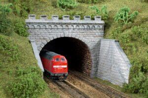 Auhagen 13277 <br/>Tunnel-Portale, 2-gleisig