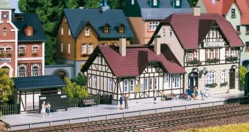Auhagen 13321 <br/>Bahnhof Moorbach  1