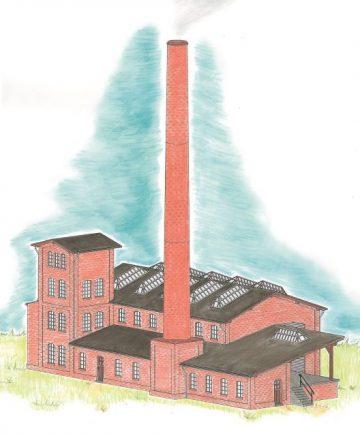 Auhagen 13341 <br/>Fabrikgebäude 1