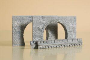 Auhagen 41587 <br/>Tunnel-Portale, 2-gleisig