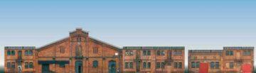 Auhagen 42506 <br/>Halbrelief-Hintergrundkulisse  1