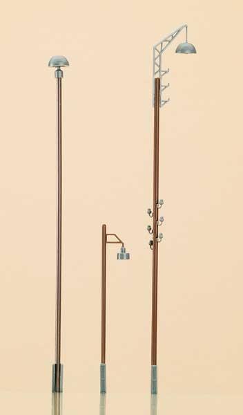 Auhagen 42554 <br/>Pilz-, Ausleger- und Straßenlampenattrappen 1